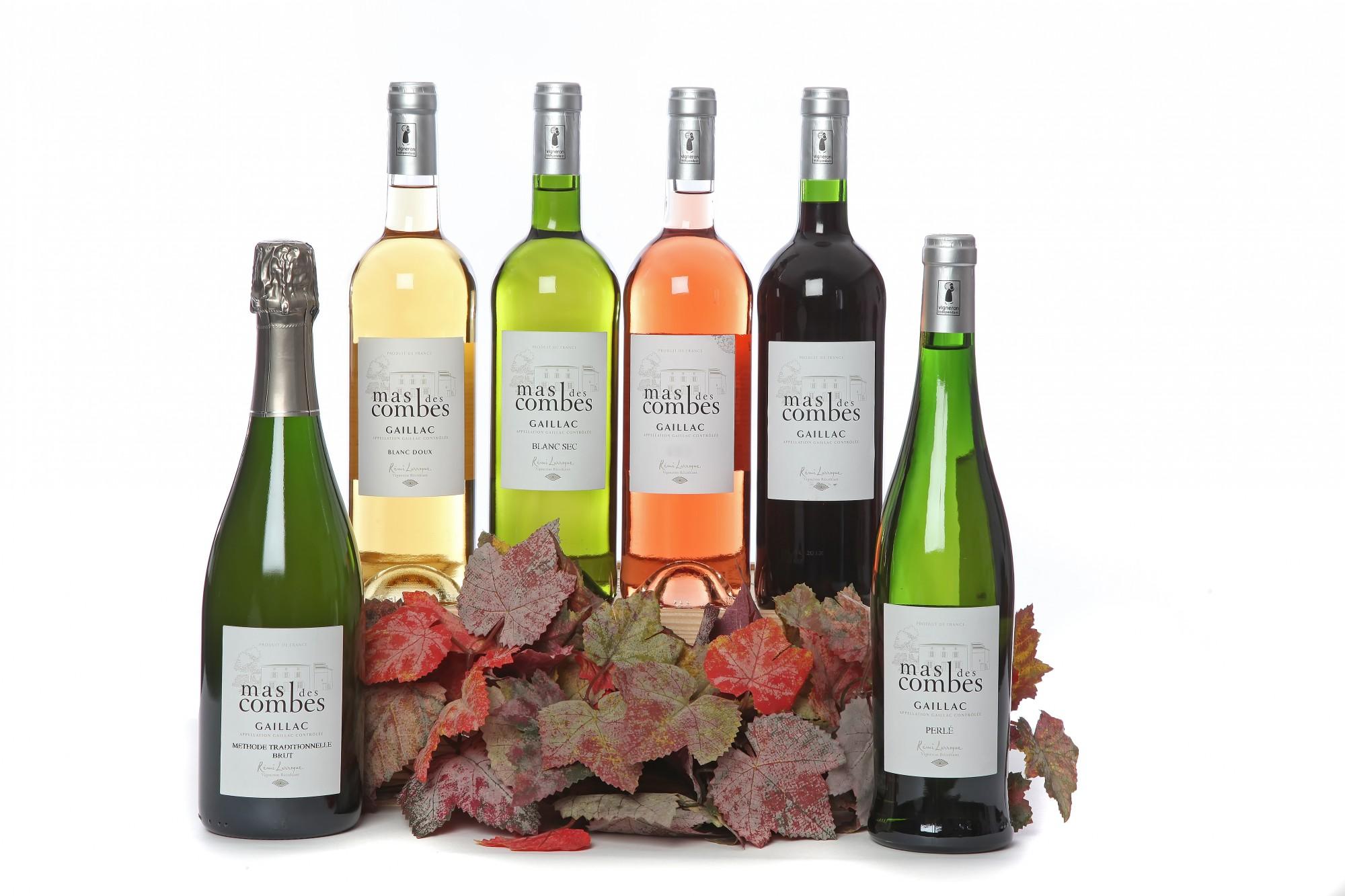 Les vins du Mas des Combes à Gaillac