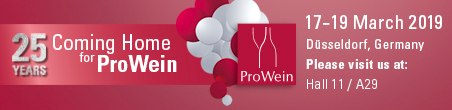 We will be at the Prowein exhibition 2019, contact us to receive an invitation